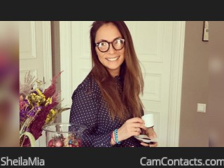 Webcam model SheilaMia from CamContacts