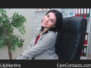 Webcam model LilyMartins from CamContacts