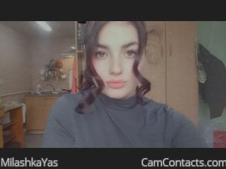 Webcam model MilashkaYas from CamContacts