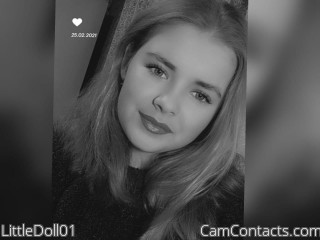 Webcam model LittleDoll01 from CamContacts