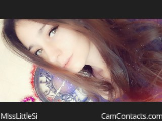 Webcam model MissLittleSi from CamContacts