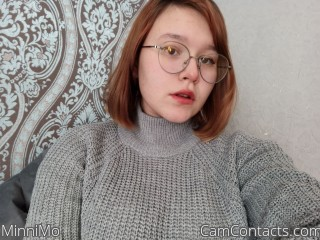 Webcam model MinniMo from CamContacts