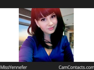 Webcam model MissYennefer from CamContacts