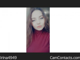 Webcam model Irina4949 from CamContacts