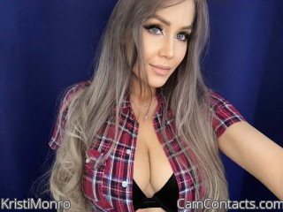 Webcam model KristiMonro from CamContacts
