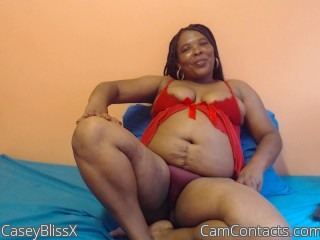 Webcam model CaseyBlissX from CamContacts