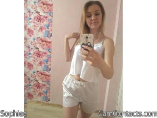 Webcam model Sophiee from CamContacts