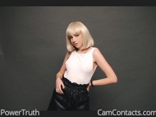 Webcam model PowerTruth from CamContacts