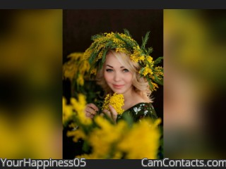 Webcam model YourHappiness05 from CamContacts