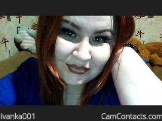 Webcam model Ivanka001 from CamContacts