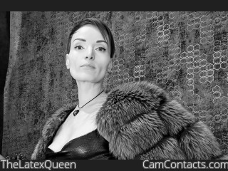 Webcam model TheLatexQueen from CamContacts