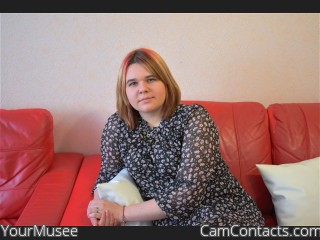 Webcam model YourMusee from CamContacts