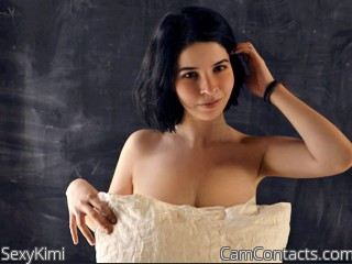 Webcam model SexyKimi from CamContacts