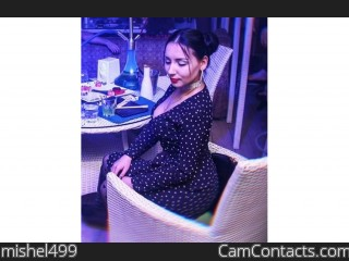 Webcam model mishel499 from CamContacts