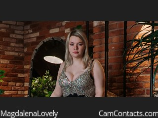 Webcam model MagdalenaLovely from CamContacts