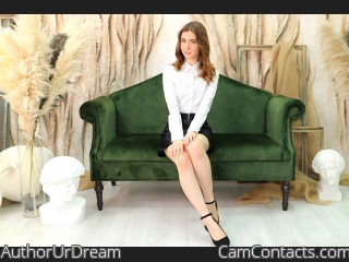 Webcam model AuthorUrDream from CamContacts