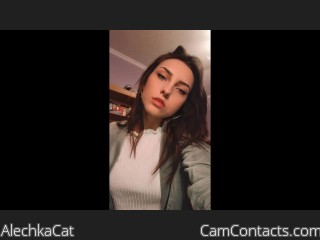 Webcam model AlechkaCat from CamContacts
