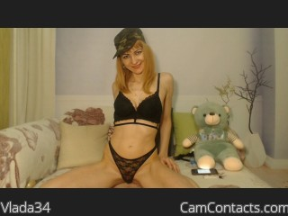Webcam model Vlada34 from CamContacts