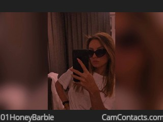 Webcam model 01HoneyBarbie from CamContacts