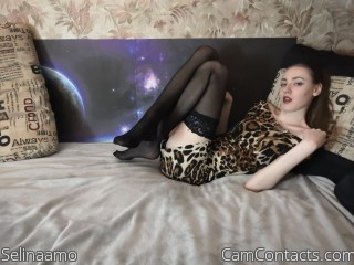Webcam model Selinaamo from CamContacts
