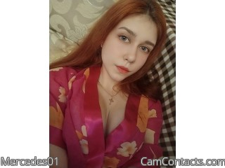 Webcam model Mercedes01 from CamContacts