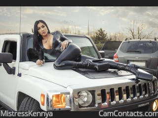 Webcam model MistressKennya from CamContacts