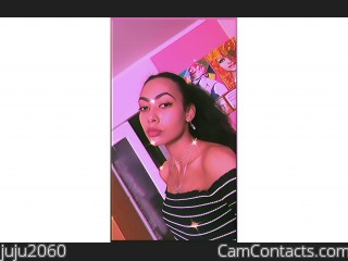 Webcam model juju2060 from CamContacts
