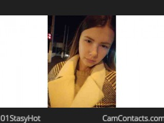 Webcam model 01StasyHot from CamContacts