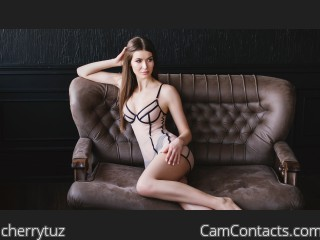Webcam model cherrytuz from CamContacts