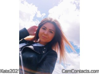Webcam model Kate2021 from CamContacts
