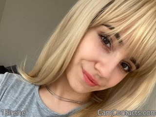 Webcam model 1Eirene from CamContacts