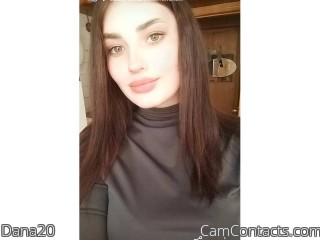 Webcam model Dana20 from CamContacts