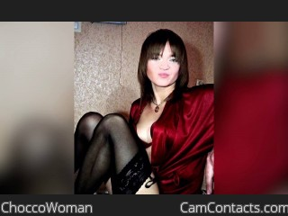 Webcam model ChoccoWoman from CamContacts