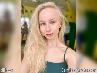 Webcam model diilove from CamContacts