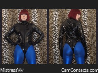 Webcam model MistressViv from CamContacts