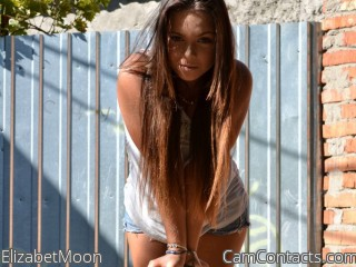 Webcam model ElizabetMoon from CamContacts