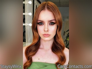 Webcam model StaysyWinx from CamContacts
