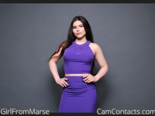 Webcam model GirlFromMarse from CamContacts