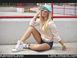 Webcam model KathleenLaVid from CamContacts