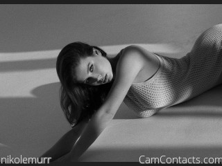 Webcam model nikolemurr from CamContacts