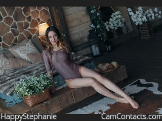 Webcam model HappyStephanie from CamContacts