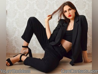 Webcam model YourrGoddess from CamContacts