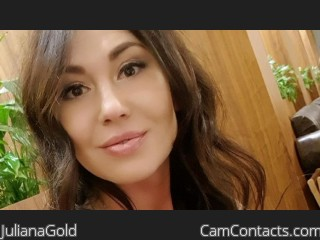 Webcam model JulianaGold from CamContacts