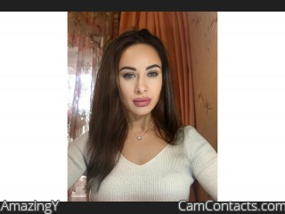 Webcam model AmazingY from CamContacts