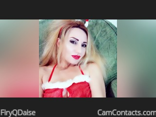 Webcam model FiryQDaise from CamContacts