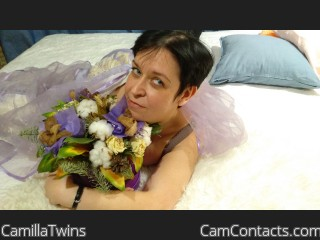 Webcam model CamillaTwins from CamContacts