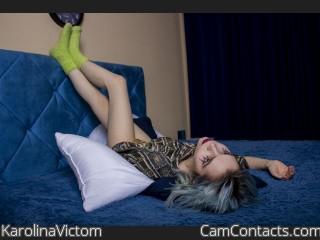 Webcam model KarolinaVictom from CamContacts