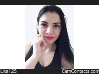 Webcam model Lika125 from CamContacts