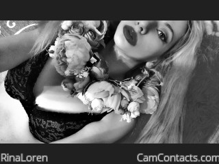 Webcam model RinaLoren from CamContacts
