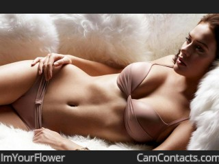 Webcam model ImYourFlower from CamContacts